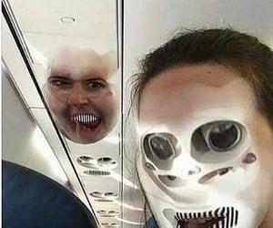 creepy, glitch, and fail image