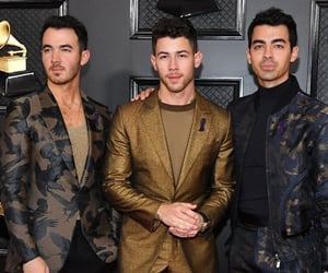 grammy, jonas brothers, and nick jonas image