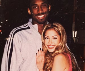 kobe bryant, vanessa bryant, and love image