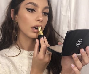 chanel, makeup, and camila morrone image
