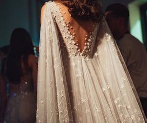 dress, beautiful, and bridal image