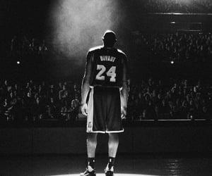 Basketball, kobe bryant, and black mamba image