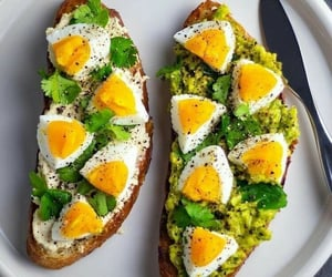 healthy, avocado, and breakfast image