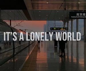 alone, goodbye, and mood image