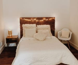 bedroom, design, and wood image