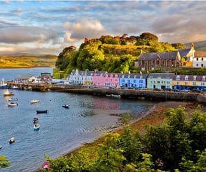 scotland, portree, and skye image