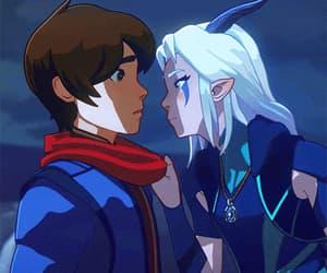gif, dragon prince, and rayla image