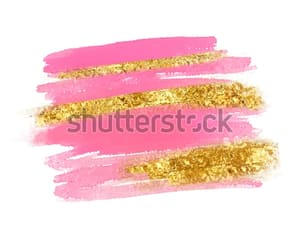 background, card, and gold image