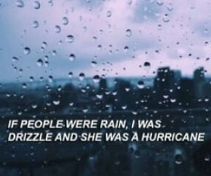and, drizzle, and hurricane image