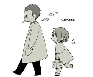anime, gangsta, and dr. theo image