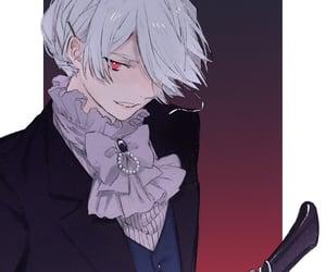 anime, white, and aristocrat image