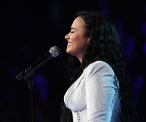 demi lovato, anyone, and grammys image