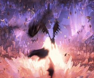 aesthetic, dragon, and gif image