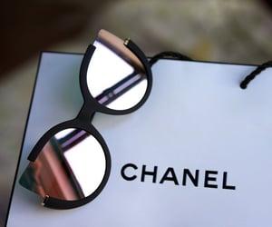 accessories, chanel, and sun glasses image