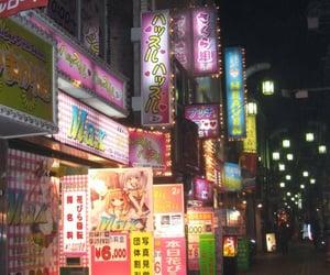 japan, kawaii, and night image