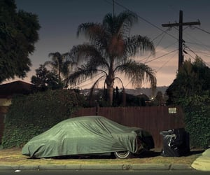 cars, street, and losangeles image