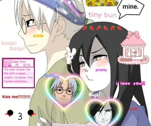 aesthetic, anime, and I love them image