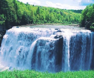 beauty, flowing, and nature image