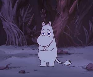 moomin, cartoon, and kawaii image