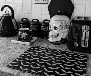 goth, home decor, and kitchen decor image