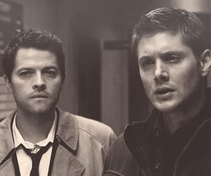 dean winchester, jared padalecki, and supernatural image