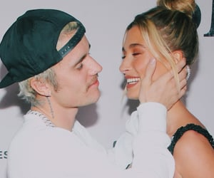 justin bieber, hailey baldwin, and hailey bieber image