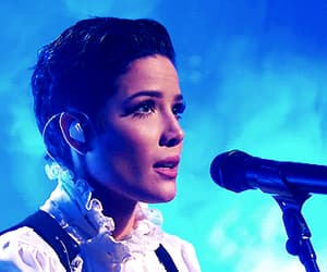 gif, singer, and halsey image
