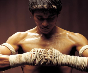 fighter, muay thai, and ong bak image