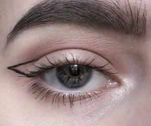 eye, eyebrow, and makeup image