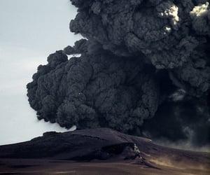 black, smoke, and nature image