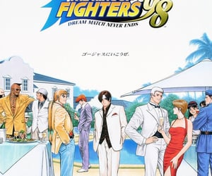 kof, snk, and the king of fighters '98 image