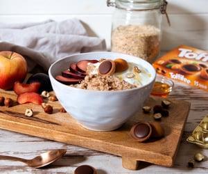 breakfast, caramel, and choco image