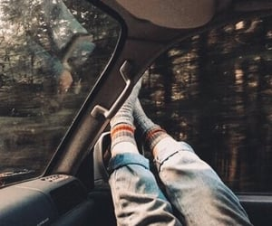 aesthetic, legs, and car image