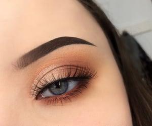 beauty, eyelashes, and make up image