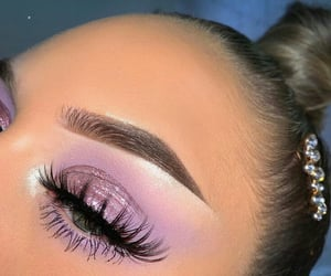 makeup, beauty, and girl image
