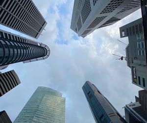 city, skyscraper, and travel image