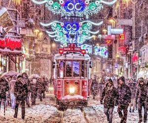 istanbul and i̇sti̇klal cad. image