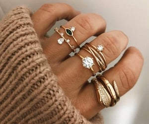 rings, beauty, and ring image