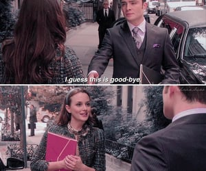 blair waldorf, ed westwick, and chuck bass image