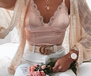 girl, accessories, and clothes image