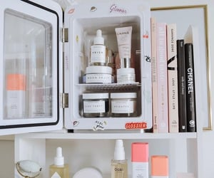 books, makeup, and skin care image
