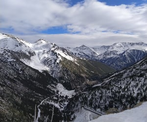 andorra, sky, and cold image