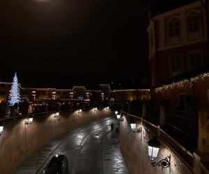 winter, night, and sibiu image