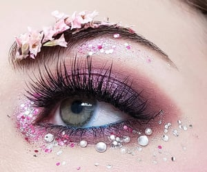 blossom, eye, and flowers image