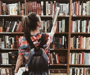 bibliophile, books, and reading image