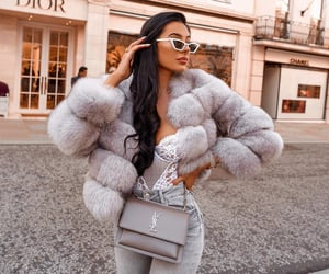 girl, luxury, and style image