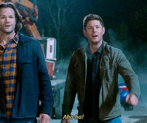 dean winchester, spn, and gif image
