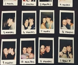 amor, polaroids, and romances image