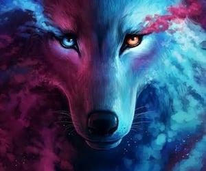 my wolfy image