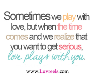 love, quote, and play image